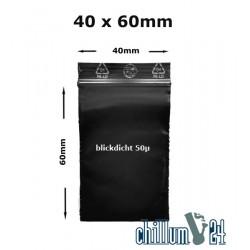 BAGGIES schwarz 40 x 60 x 0,05 mm ca.100 Stück