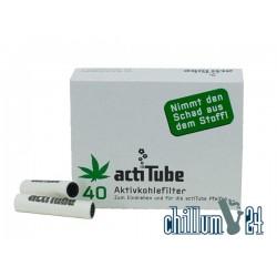 ActiTube 8 mm Aktivkohlefilter 40er Pack