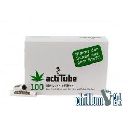 ActiTube 8mm Aktivkohlefilter 100er