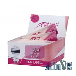 Box 40x PURIZE 32 Blatt King Size Slim Ultrathin Pink
