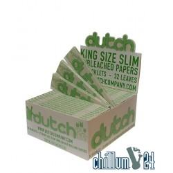 Box 50x Dutch Organic KSS Unbleached 32 Blatt