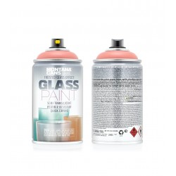 Montana Glass Paint GP3010 Frosted Matt Coral Red 250ml